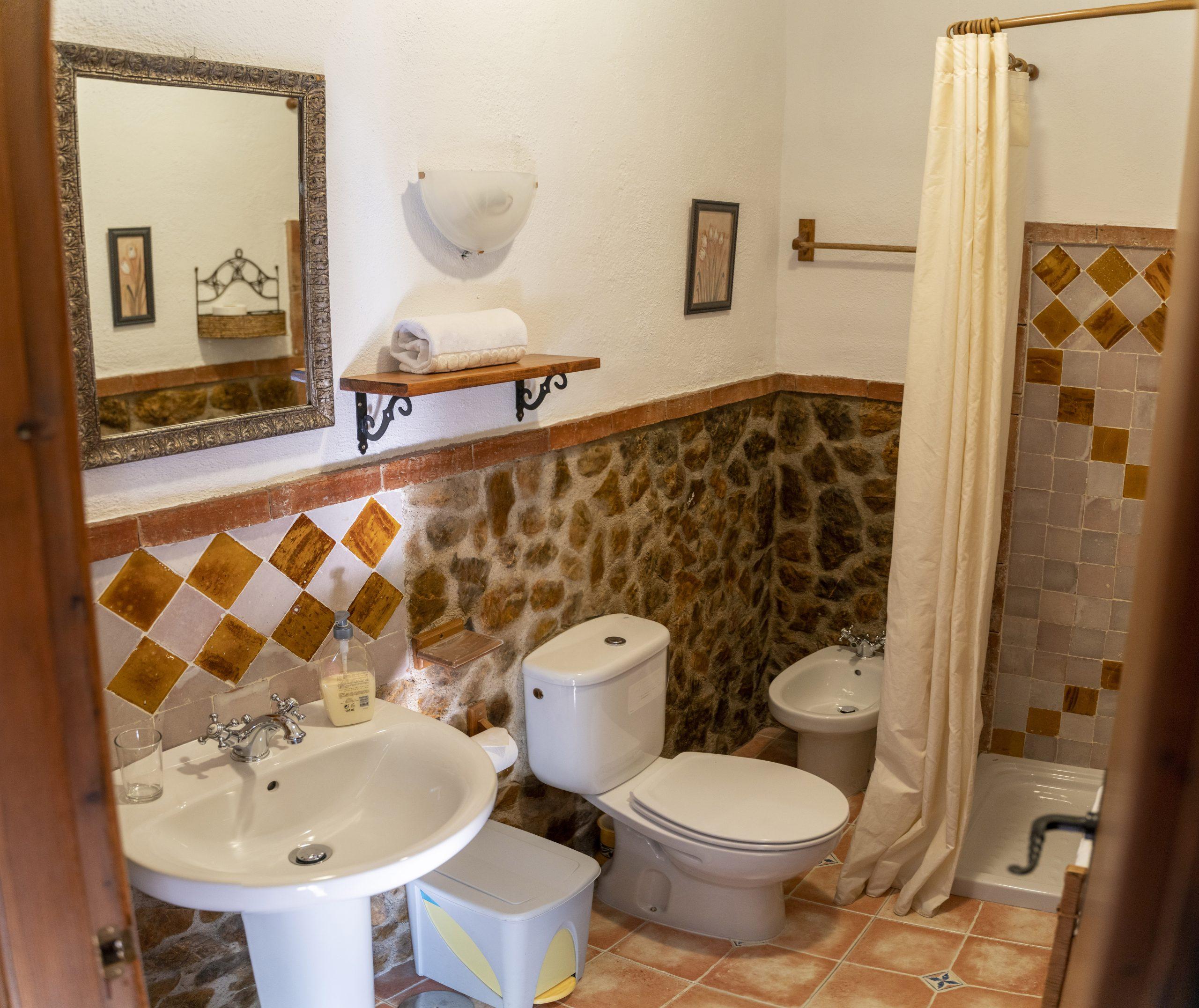 Baño doble Hotel Rural Fuente La Teja