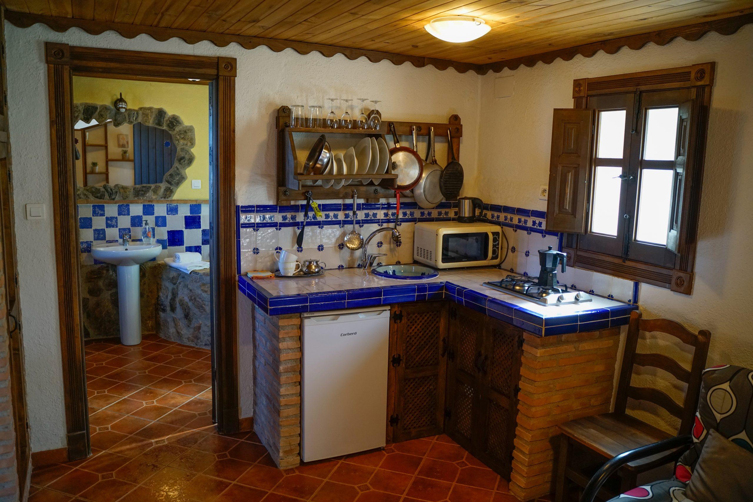 Cocina Jara Hotel Rural Fuente La Teja