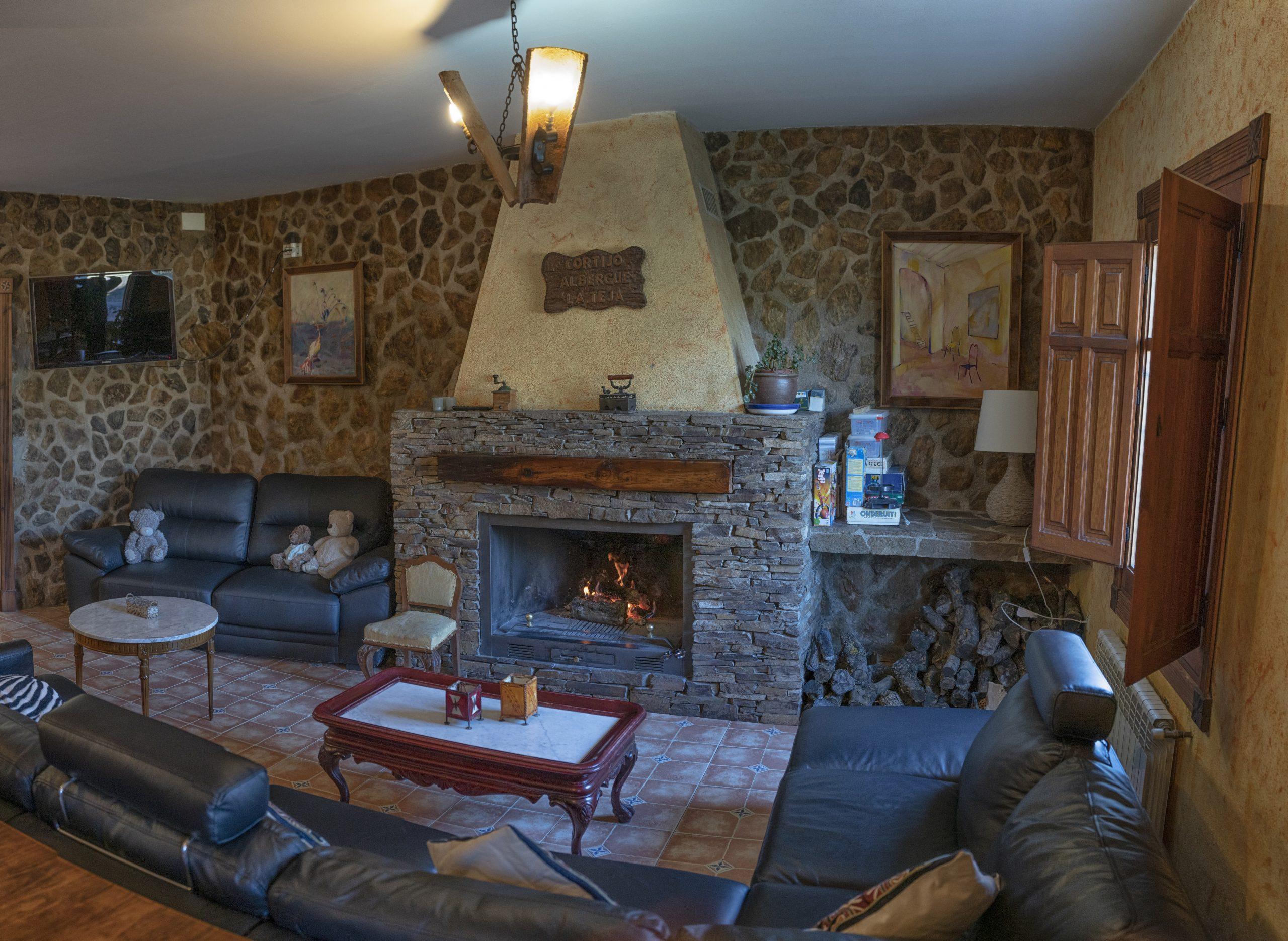Salón Hotel Rural Fuente La Teja