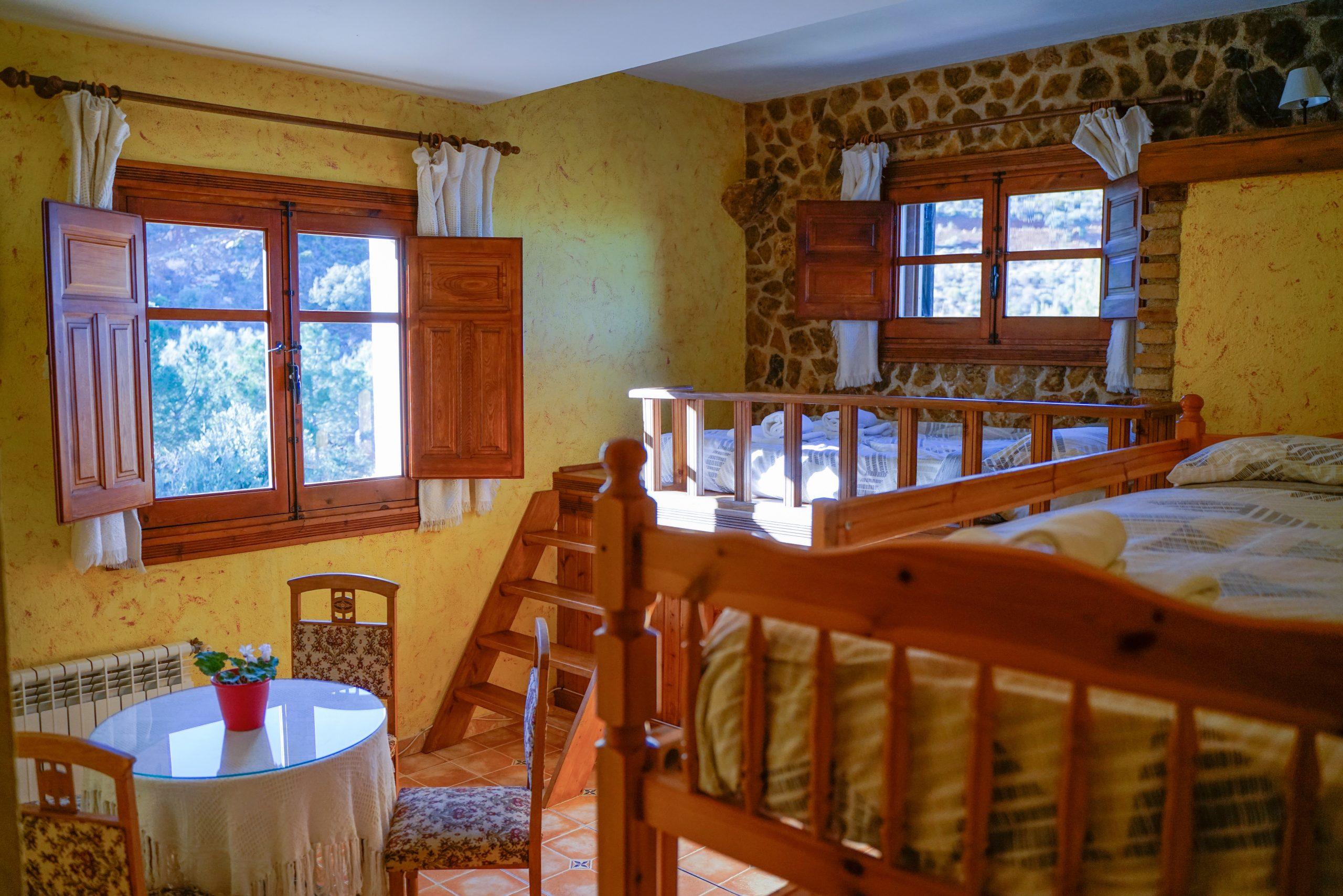 Cuádruple habitación Hotel Rural Fuente La Teja