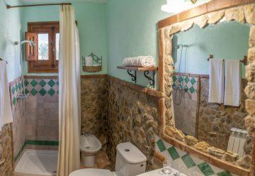Baño cuádruple Hotel Rural Fuente La Teja