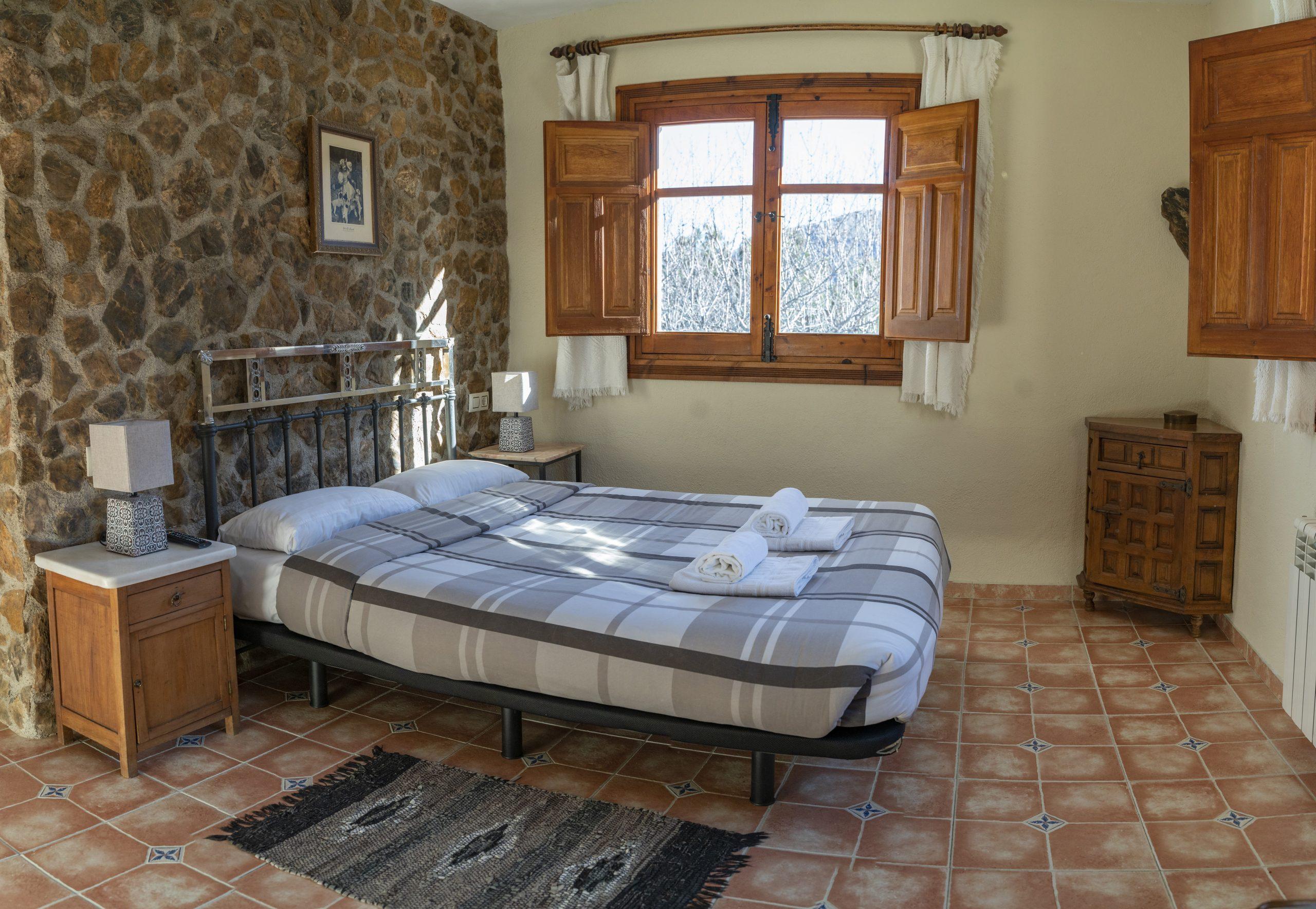 Habitación doble Hotel Rural Fuente La Teja