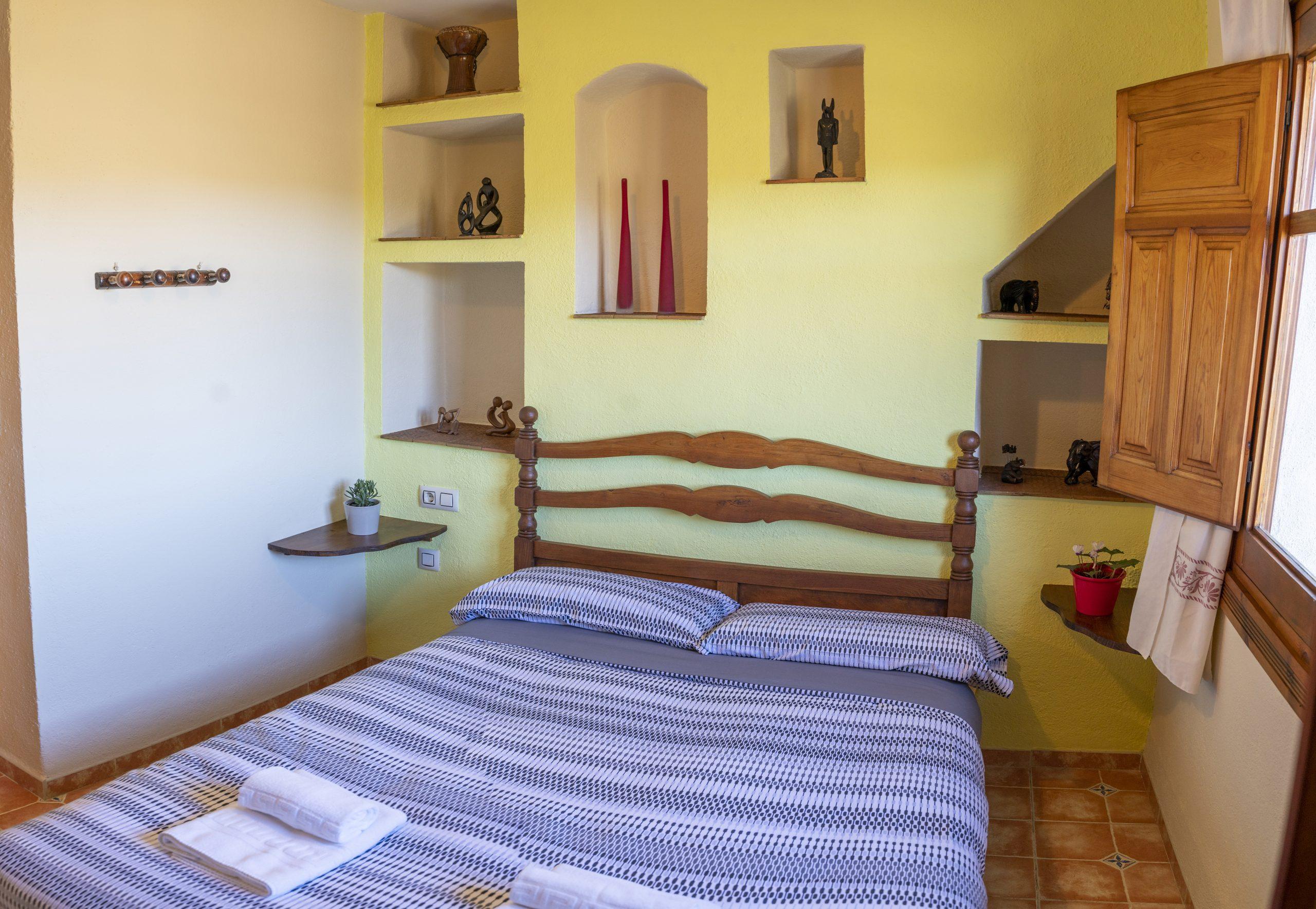 Habitación individual Hotel Rural Fuente La Teja