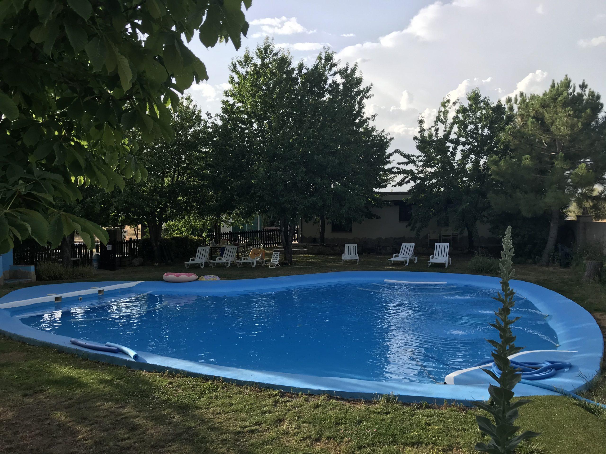 Piscina Hotel Rural Fuente La Teja